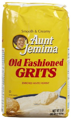 Quaker Grits Aunt Jemima Old Fashioned Bag - 80 oz (Pack of 8) by Quaker