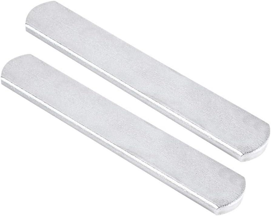 VGEBY1 Peso Placa de Acero, Placa de Acero Acero Inoxidable para el Peso Chaleco Pierna Shin Guardias Equipos para soportar Peso