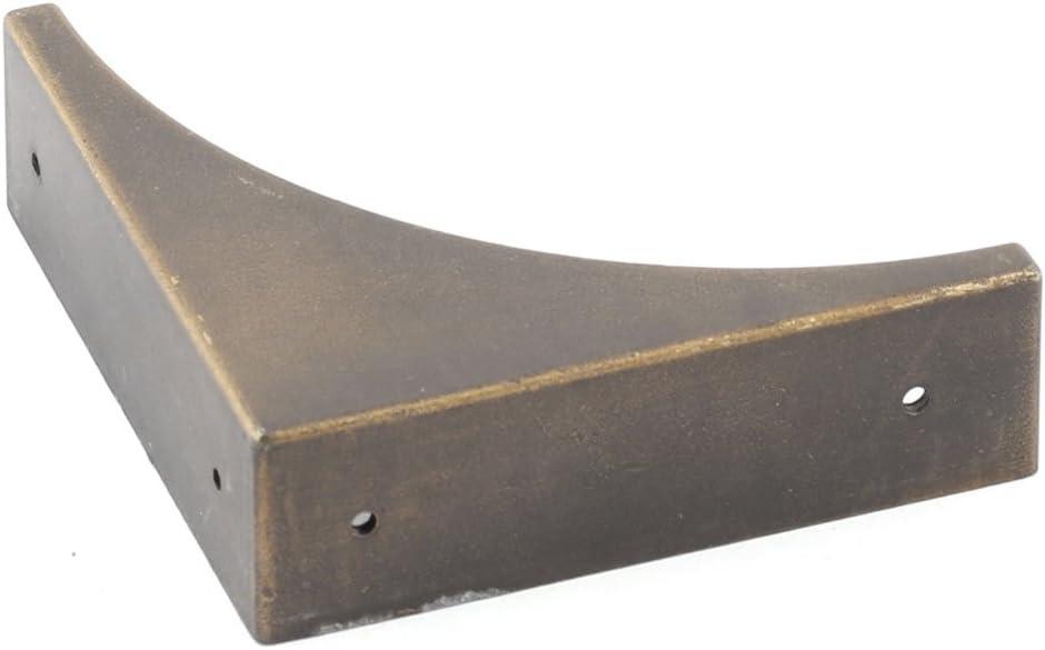 Insmartq Desk Box Edge Corner Protector Guard Retro Style 66 x 66 x 20mm Box Corner Protector