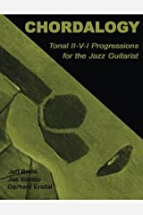 Chordalogy: Tonal II-V-I Progressions for the Jazz Guitarist by Jeff Brent (2012-12-28) Paperback