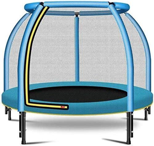 Suge niños Trampolín niños Ejercicio Plegable de Alta elástica Cama de Fitness, Circular Saltar apoyabrazos, Impermeable y Transpirable Silencio Pad, al Aire Libre Jardín Parque Infantil WKY
