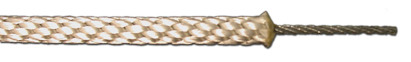 T.W Evans Cordage 250-100-68 Braided Polyester Wire Center Rope, 5/16-Inch x 500-Feet