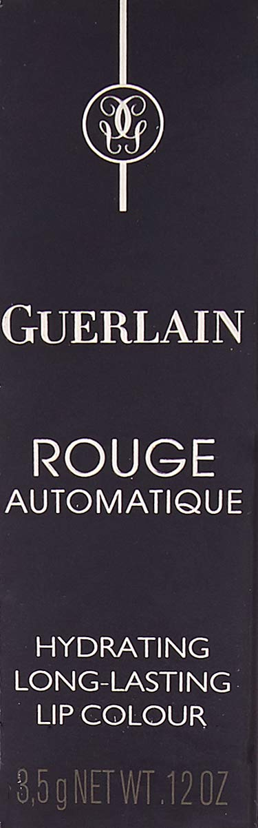 Guerlain Rouge Automatique Long-lasting Lip Stick for Unisex, 142 Fleur de Feu, 0.12 Ounce
