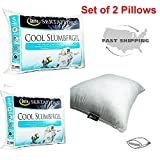 Hypoallergenic Pillow Foam Bamboo Memory King Queen Comfort Hotel Cool 2 New Pack Size Bag Bed Set Pillows Sleep Carry