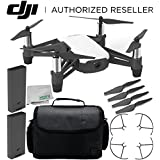 Ryze Tello Quadcopter Drone HD Camera VR - Powered DJI Technology Intel Processor Essential Travel Bundle