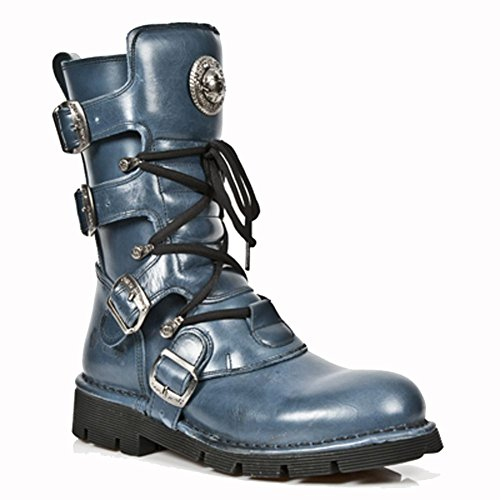 New Rock Comfort-Light Blue Boots M.1473-S16 ef1nlRhO