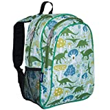 Wildkin 15 Inch Backpack, Extra Durable Backpack with Padded Straps and Interior Moisture-Resistant Lining, Perfect for School or Travel – Dinomite Dinosaur