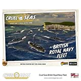 Cruel Seas Royal Navy Fleet Starter Set, World War II Naval Battle Game ...