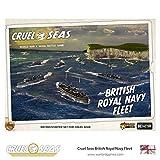 Cruel Seas Royal Navy Fleet Starter Set, World War II Naval Battle Game ...