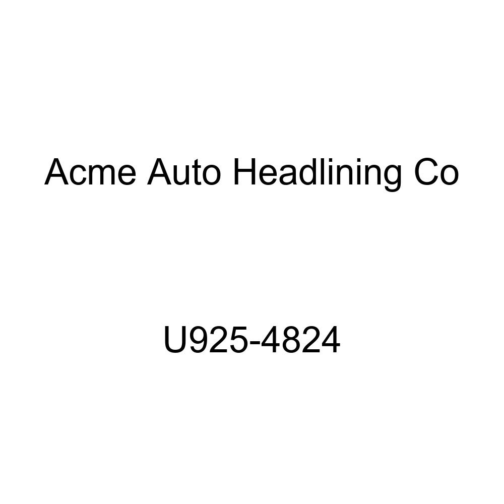Acme U925-4824 Front and Rear White Vinyl Bench Seat Upholstery