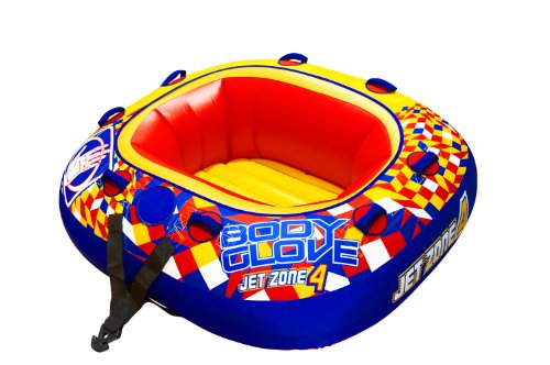 Body Glove 15543 Jet Zone 4 Inflatable 4 Person Towable (4 Person Inflatable Towables)