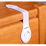 UDplus 4 X Baby Drawer Cupboard Cabinet Door Drawers Lengthened Safety Lock Latch
