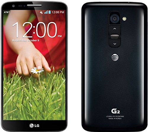LG G2 D800 GSM 4G LTE Unlocked Smartphone with 13MP Camera, 32GB, Black (T Mobile Cell Phones Lg G2)
