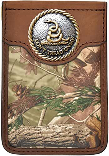Custom Badger Don't Tread On Me Realtree AP Camo Money Clip