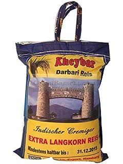 Sundari Arroz Basmati 1 Kg - [Pack De 10] - Total 10 Kg: Amazon.es ...
