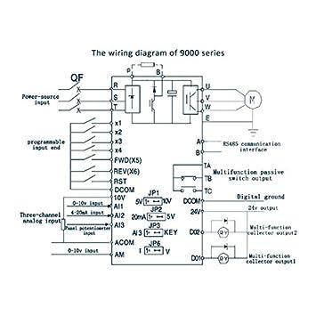 380 V 2.2KW 3 Phase AC Frequenzumrichter: Amazon.de: Elektronik Yl L Electric Motor Wiring Diagram on
