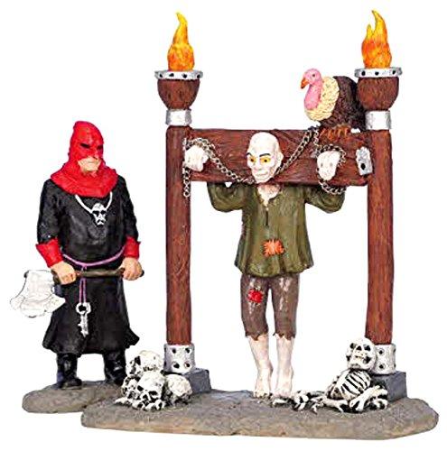 Lemax Spooky Town Village Tortured Soul 2-Piece Figurine Set #62203]()