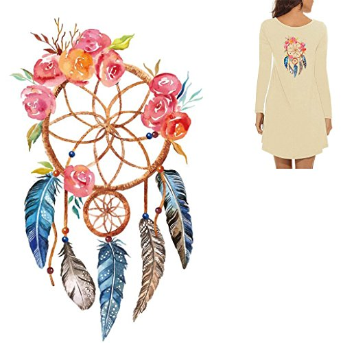 Padory Dream Catcher Iron On Patch DIY Heat Transfer Sticker
