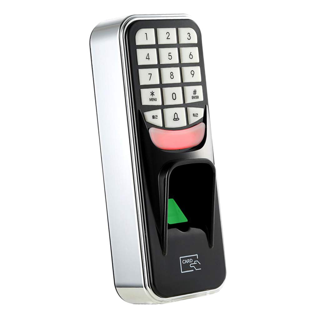 Passwort Fingerabdruck Biometrische RFID-Karte Tastatur Türschloss Passwort 12V