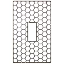 Cyalume Cyflect Luminous, Reflective Adhesive Backing Lightswitch Cover, 3-Inch Length x 2-Inch Width, White