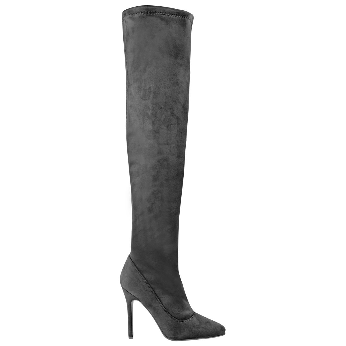 a2c4b2de51 Amazon.com | Fashion Thirsty Womens Thigh High Over The Knee High Heel  Stiletto Boots Party Size | Over-the-Knee
