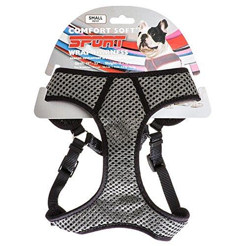 Coastal Pet Sport Wrap Harness Black  Medium