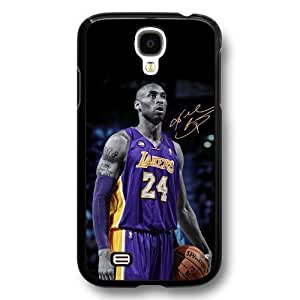 Onelee(TM) - Customized Black Hard Plastic Samsung Galaxy S4 Case, NBA Superstar Lakers Kobe Bryant Samsung Galaxy S4 Case