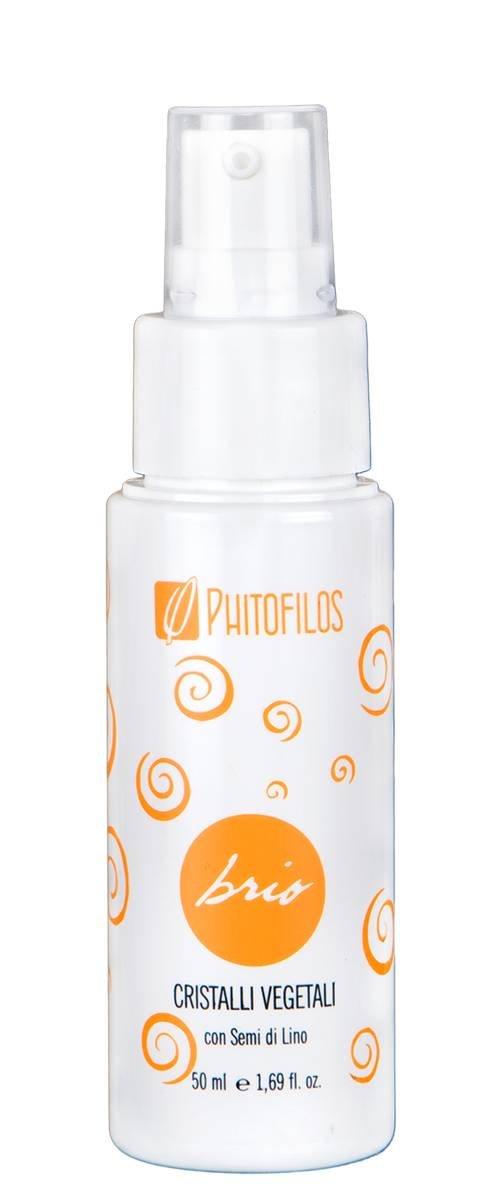 PHITOFILOS BRIO - Cristalli Vegetali per Capelli - Effetto iper shining - Con Semi di Lino - Texture Cremosa - 30 ml Yumi Bio Shop