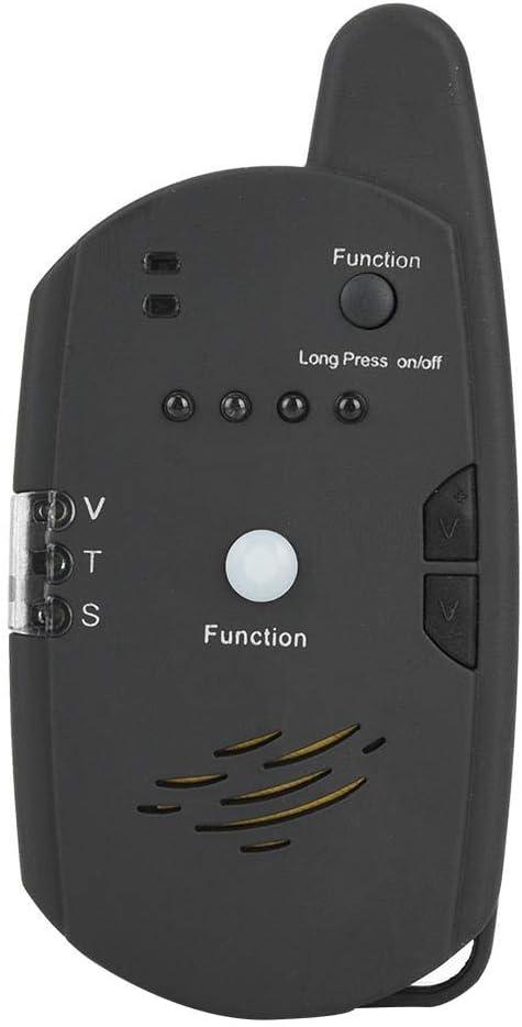 1 Empf/änger 4 Abschussrampe Neufday Fischen-Schlag-Anzeige ABS LED Fischen-elektronischer Fisch-Bissanzeiger-Sucher-Tonalarm-Anzeige-Zusatz