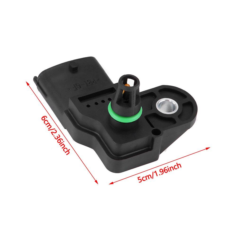 Map Manifold Air Pressure Turbo Boost Sensor For 0281002437 KIMISS Air Pressure Sensor