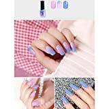 Ocamo 6ML Safe Healthy Glitter UV Gel Temperature Color Changing Nail Polish Nail Art Tools Art Beauty Accessories nw018