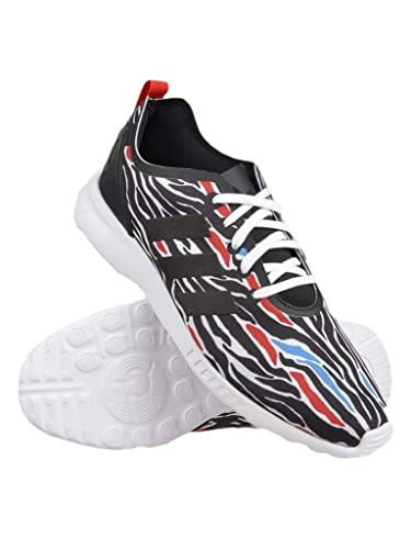 Flux White Smooth Adidas Zebra Chaussure Zx 38Amazon Print hsrCtxQd