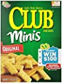 Club Crackers, Original Minis, 11-Ounce Boxes (Pack of 4)