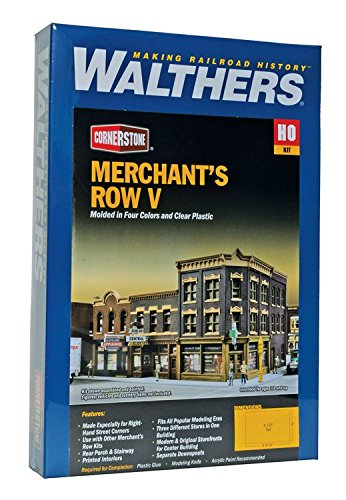 Walthers Cornerstone Merchant's Row V Train