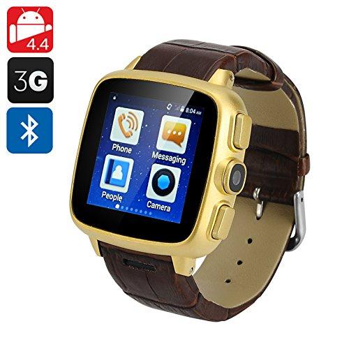 ORDRO SW18 teléfono celular reloj - Android 4.4, 3 G ranura ...