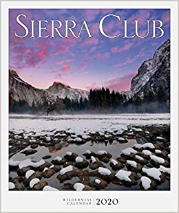 Best Books For Book Club 2020 Sierra Club Wilderness Calendar 2020: Sierra Club: 9781578052233