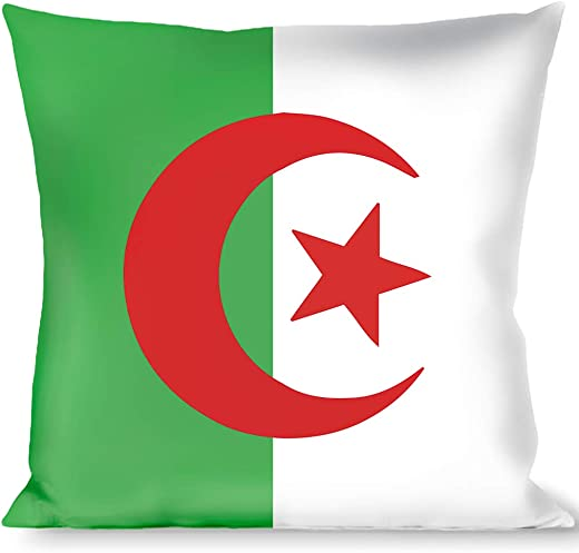 Pillow Decorative Throw Algeria Flags