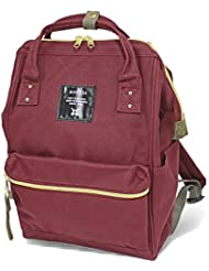 Anello #AT-B0197B small backpack with side pockets (Wine)