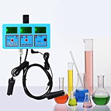PH-118 6 in 1 Multi-function Water Quality Monitor PH ORP Temperature Conductivity EC CF TDS Tester
