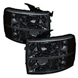 Spyder Auto HD-JH-CS07-AM-SM Crystal Headlight