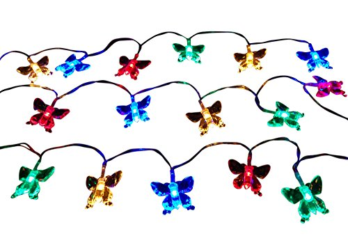 20 Led Butterfly Solar String Light