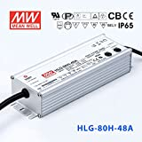 Meanwell HLG-80H-48A Power Supply - 80W 48V 1.7A - IP65 - Adjustable Output