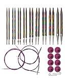 Knit Picks Options Wood Interchangeable Knitting Needles Set - US 4-11 (Sunstruck)
