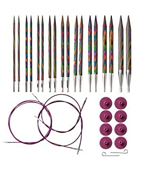 Knit Picks Options Wood Interchangeable Knitting Needles Set