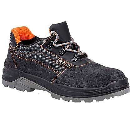 Paredes SM5060 Gr35 Alfa – Zapatos de seguridad S1P talla 35 color gris/naranja