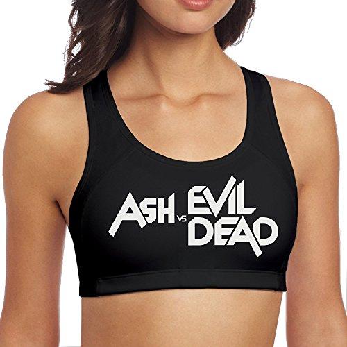 Bruce Campbell Ash Costumes (KathyB Ash Vs Evil Dead Sports Vest S Black)