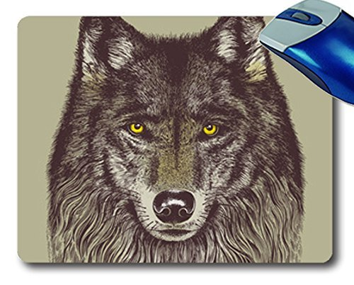 NBcase Wolf Windcatcher Black cool mouse pads - Buy Online in Oman