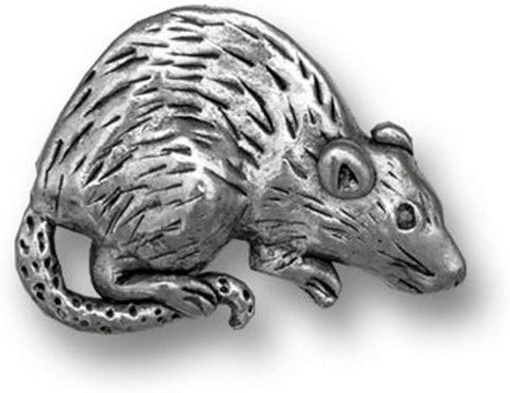 red eye hooded fancy pet rat lapel pin yellow cream argente Little Companion: Fawn Rat hard enamel pin brooch gold metal mouse