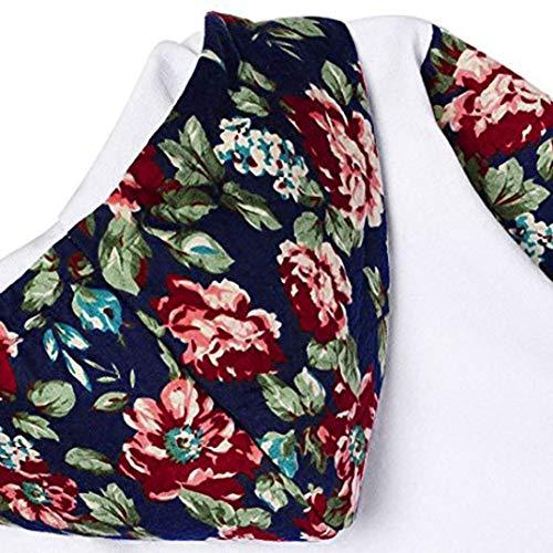 Hoodies Chandail avec d'hiver Manches Mode Sweatshirt Manteau Longues Femmes Nouvelles Pocket 2018 Casual zahuihuiM Blanc Tops d'impression 78vq00