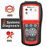 Autel AutoLink AL619 OBD2 Scanner ABS SRS Car Diagnostic Scanner Turns Off Check